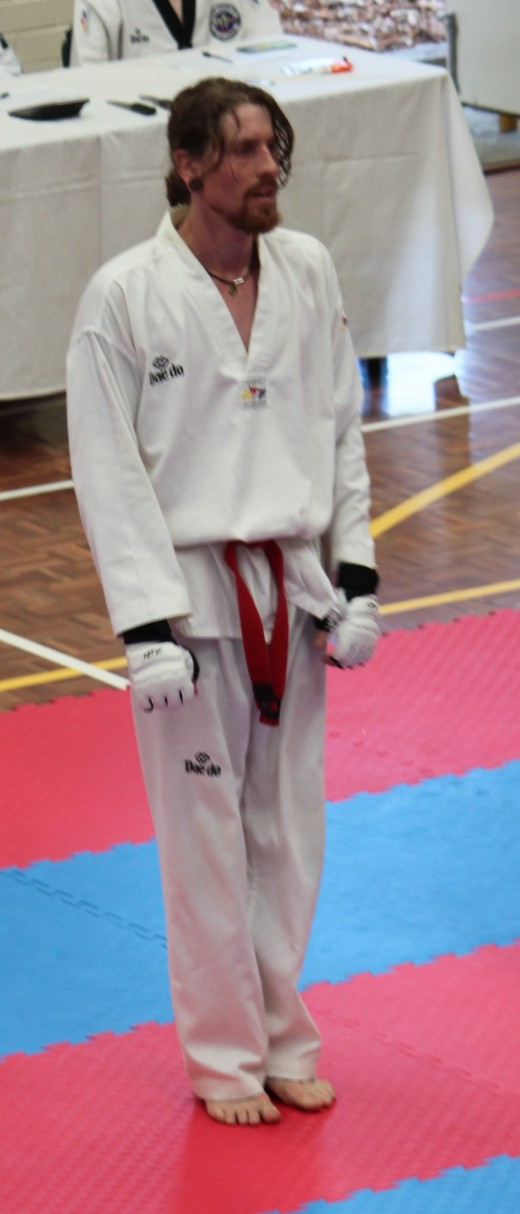 Luke Crane Awaits His Next Bout For Sparring - www.tkdcentral.com