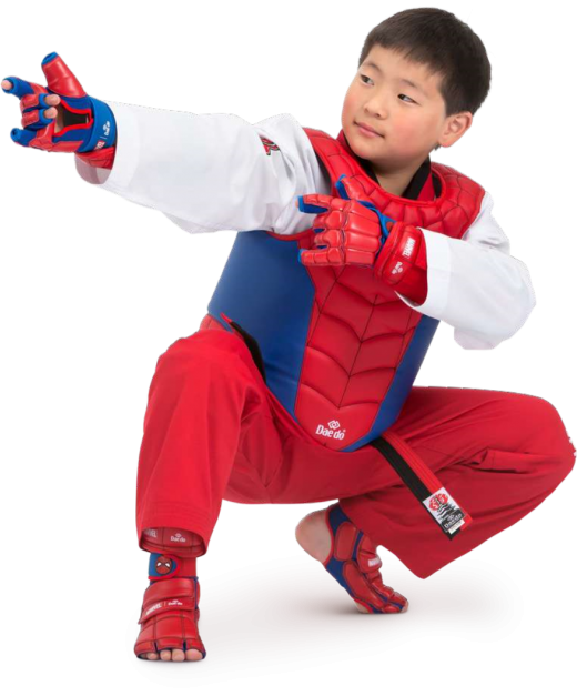 Marvel - Daedo Taekwondo Safety Gear - Spider Man