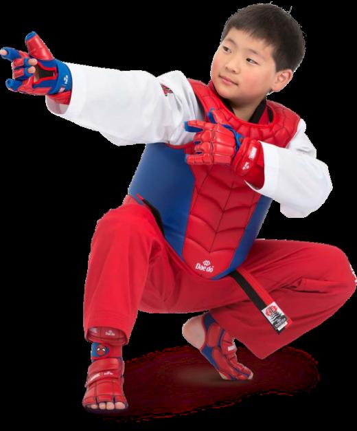 Marvel - Daedo Taekwondo Safety Gear - Spider Man