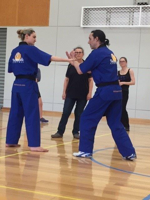 Quick Release Self Defence is effective and easy to learn - ECU Self Defence - www.tkdcentral.com
