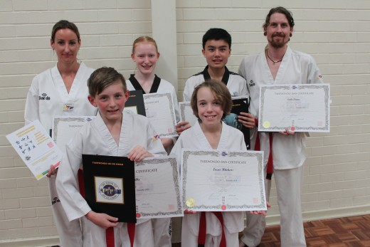 Taekwondo Central 2018 Black Belts After Grading - www.tkdcentral.com