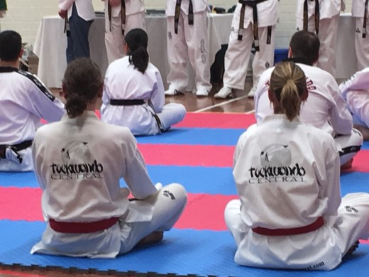 Taekwondo Central Students Luke Crane & Kelly Rowe Await Results At Their 2018 Successful Black belt Grdaing - www.tkdcentral.com