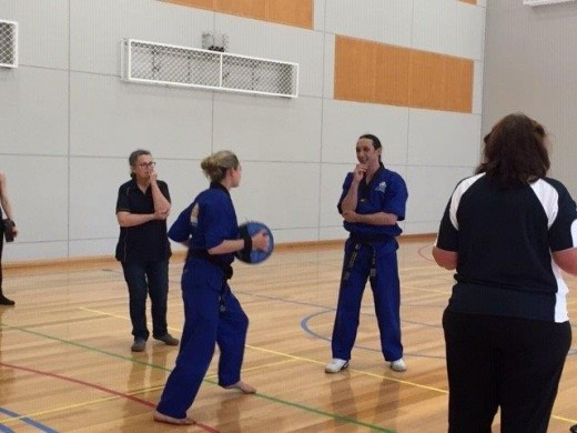 Teaching The Finer Points Of Effective Self Defence - ECU Self Defence - www.tkdcentral.com