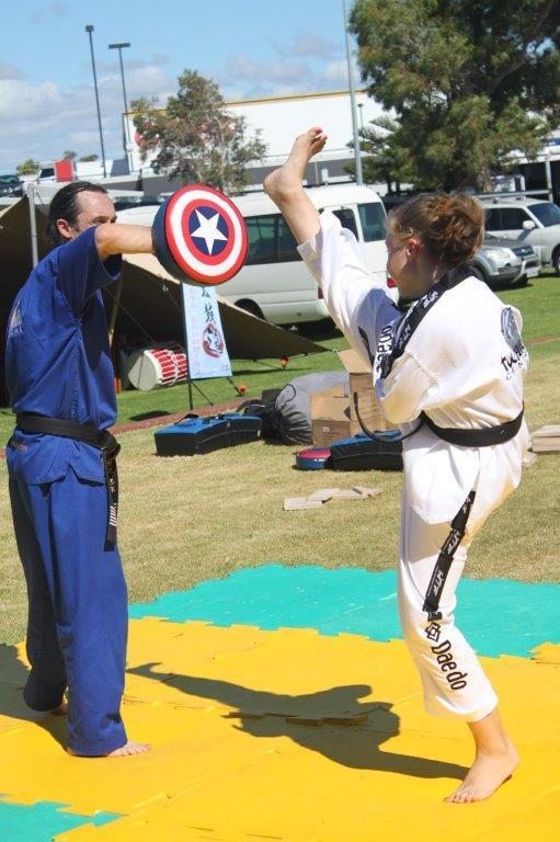 Taekwondo Central South West Multi Cultural Festival Demos